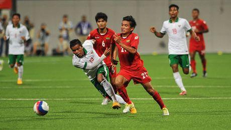Indonesia hoa be tac Myanmar truoc ngay tai dau DT Viet Nam - Anh 1