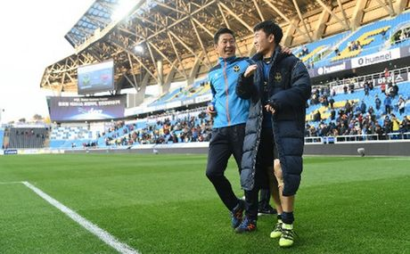 Incheon United thang lon, Xuan Truong san sang da AFF Cup - Anh 1
