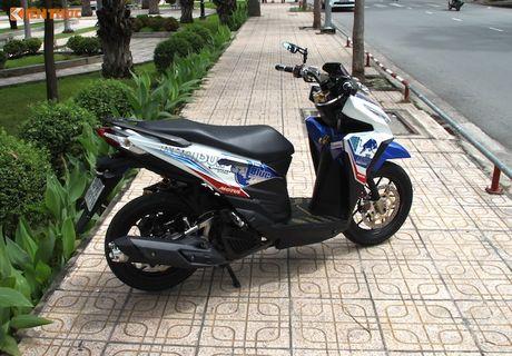 Honda Click 125i do 'do choi khung' tai Sai Gon - Anh 13