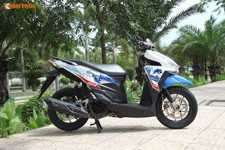 Honda Click 125i do 'do choi khung' tai Sai Gon - Anh 2