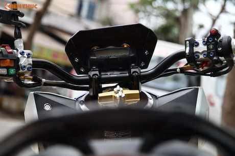 Honda Click 125i do 'do choi khung' tai Sai Gon - Anh 6