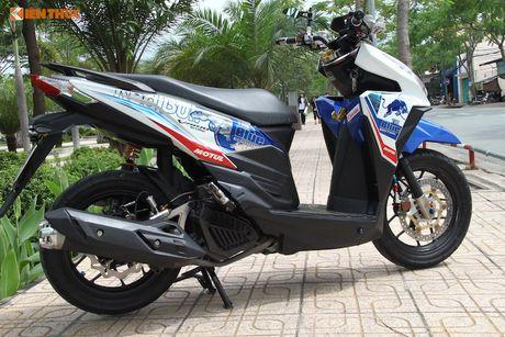 Honda Click 125i do 'do choi khung' tai Sai Gon - Anh 7