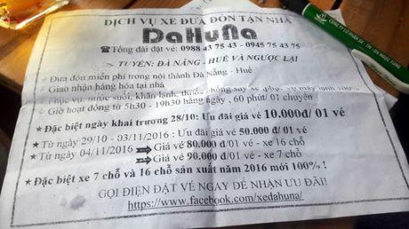 """Diem mat dan """"xe du"""" long hanh tuyen Da Nang - Hue (2) - Anh 2"""