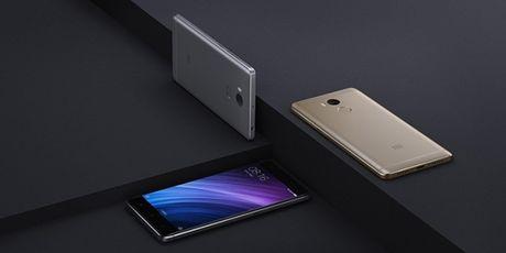 Smartphone gia re Xiaomi Redmi 4 ra mat voi gia tu 105 USD - Anh 1