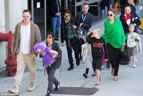 Brad Pitt de don ly hon dap tra Angelina Jolie - Anh 2