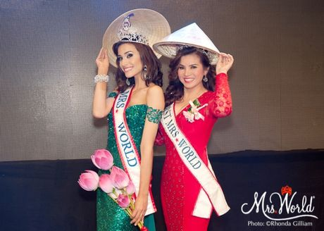 Tan Hoa hau Quy ba The gioi 2016 muon den Viet Nam - Anh 1
