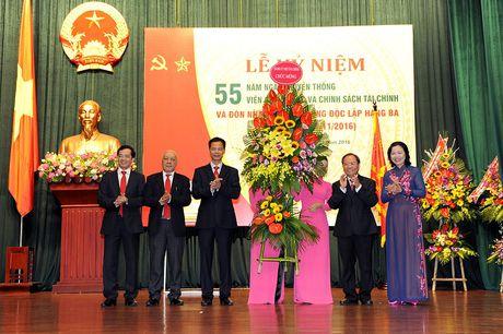 Vien Chien luoc va Chinh sach tai chinh don nhan Huan chuong Doc lap hang Ba - Anh 6
