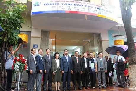 Khai truong Van phong quan Yongsan tai TP Quy Nhon - Anh 1
