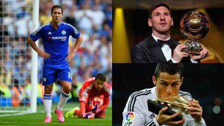 Chelsea: HLV Conte lay Messi & Ronaldo khich Hazard - Anh 2