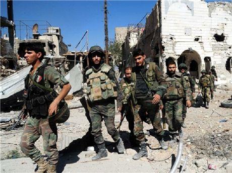 Chi huy trung doan ten lua chong may bay cua phien quan thiet mang o Aleppo - Anh 1