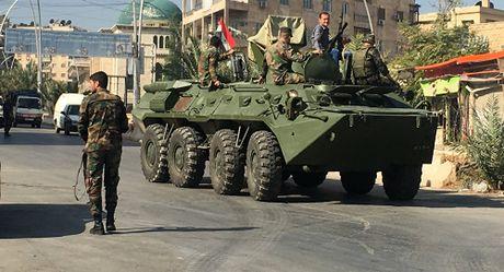 Phien quan dien cuong xa sung vao hanh lang nhan dao o Aleppo - Anh 1