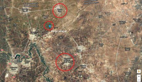 Quan doi Syria tan cong manh tren tuyen lua Hama - Anh 1