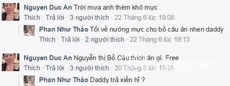 Phan Nhu Thao bi fan 'trach' vi vua sinh xong da lam dieu nay - Anh 3