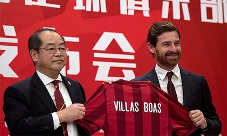 Villas-Boas the cho Eriksson o Trung Quoc voi muc luong khung - Anh 1