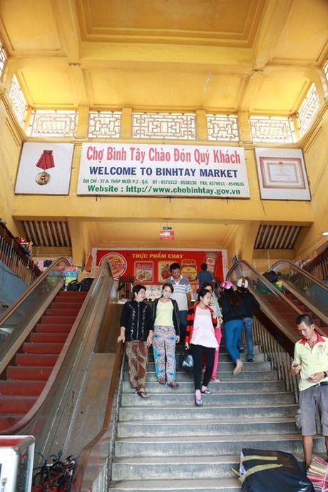 Cho Binh Tay gan 90 tuoi truoc ngay tam dong cua - Anh 4