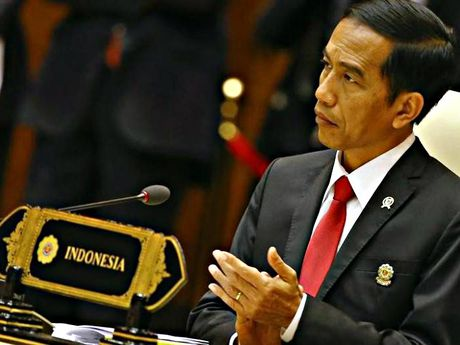 Tong thong Indonesia noi se khong thoa hiep o Bien Dong - Anh 1