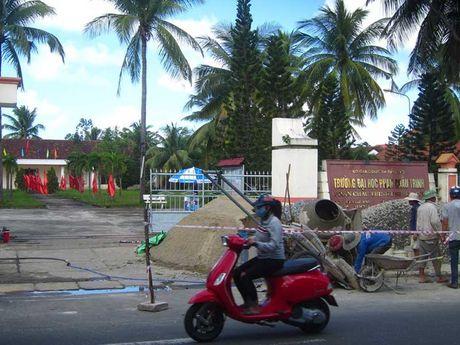 DH Phan Chau Trinh bi thu hoi mat bang - Anh 1