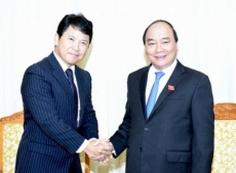 Thu tuong Nguyen Xuan Phuc tiep Cong su Dai su quan Nhat Ban tai Viet Nam - Anh 1