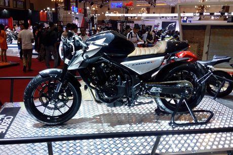 Honda CB500F do cafe racer o Indonesia - Anh 1