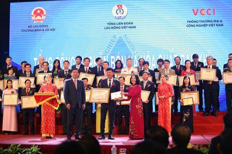 PVFCCo duoc vinh danh 'Doanh nghiep vi nguoi lao dong' - Anh 1