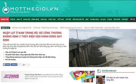 Bao Mot the gioi va Dien dan Otofun bi xu phat hanh chinh - Anh 1