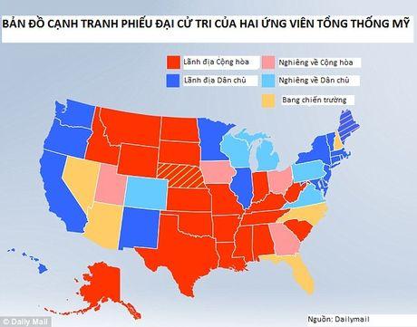 Bau cu My: Cac bang chien truong 'doi chieu' nga ve phia Donald Trump - Anh 2