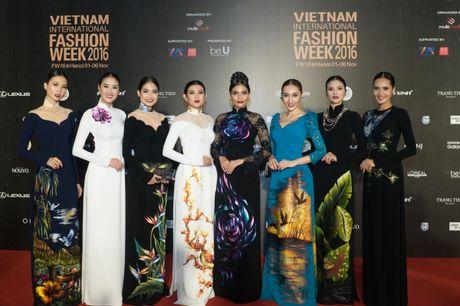 'Cuoc chien nhan sac' cua nhung nang Hau tren tham do VIFW ngay 3 - Anh 5