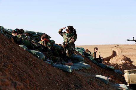 Ve dep nhung nu chien binh nguoi Kurd trong cuoc chien o Mosul - Anh 10