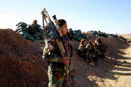 Ve dep nhung nu chien binh nguoi Kurd trong cuoc chien o Mosul - Anh 17