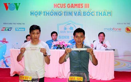 Le boc tham giai bong da Sinh vien Thanh pho Ho Chi Minh - Anh 1