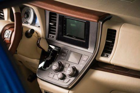 Toyota Sienna minivan do banh vang sang nhu chuyen co - Anh 5