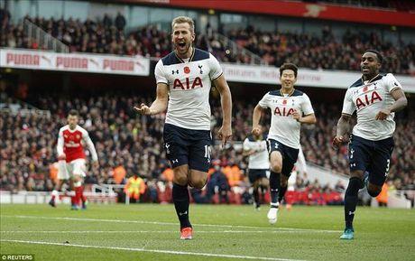 Arsenal 1-1 Tottenham: Phao chua the len dinh - Anh 1