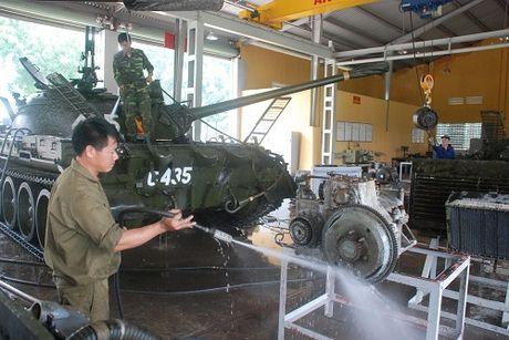 Lu doan 26, QDVN dai tu thanh cong nhieu xe tang T-54, T-59 - Anh 2