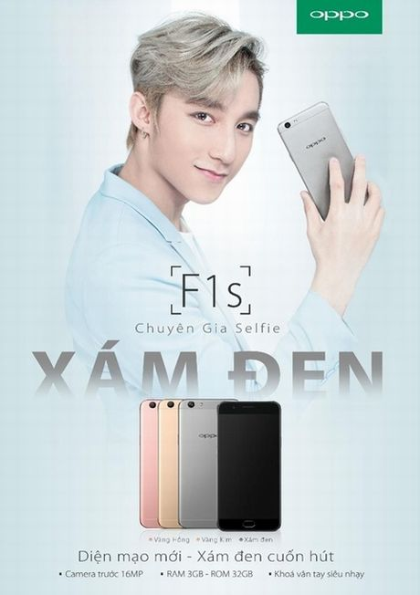 Smartphone F1s co them phien ban moi gia 5,99 trieu dong - Anh 1