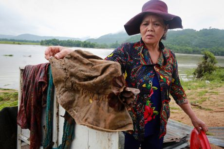 Canh tan hoang vung ron lu Phu Yen - Anh 4