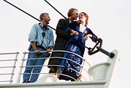 Tiet lo anh hau truong cuc 'doc' cua phim 'Titanic' - Anh 2