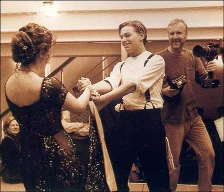 Tiet lo anh hau truong cuc 'doc' cua phim 'Titanic' - Anh 6