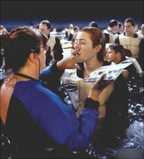 Tiet lo anh hau truong cuc 'doc' cua phim 'Titanic' - Anh 7