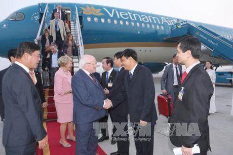Tong thong Ireland va Phu nhan bat dau tham Viet Nam - Anh 2