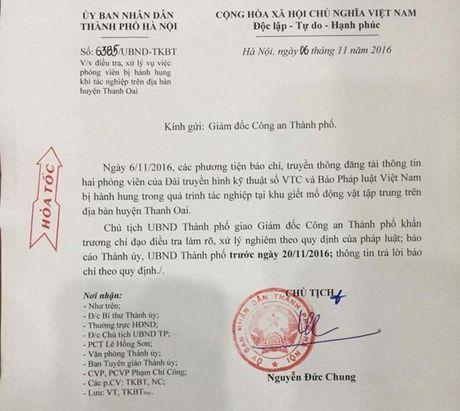 Chu tich Ha Noi yeu cau lam ro vu phong vien bi hanh hung - Anh 1
