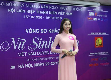 "Lo dien top 92 thi sinh vao vong ban ket cuoc thi ""Nu sinh duyen dang Viet Nam"" - Anh 2"