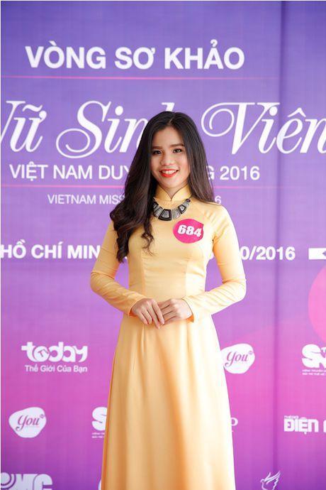 "Lo dien top 92 thi sinh vao vong ban ket cuoc thi ""Nu sinh duyen dang Viet Nam"" - Anh 3"