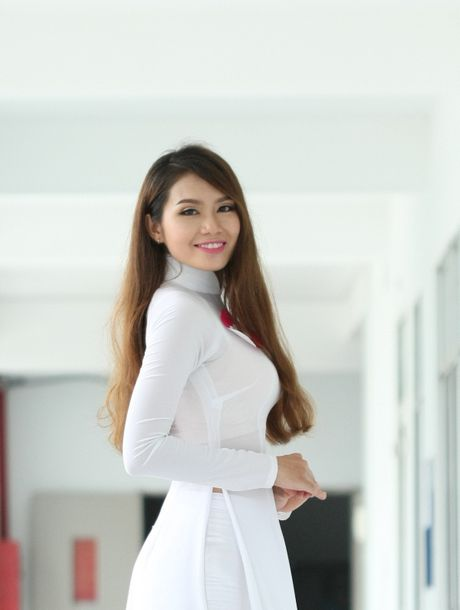 "Lo dien top 92 thi sinh vao vong ban ket cuoc thi ""Nu sinh duyen dang Viet Nam"" - Anh 4"