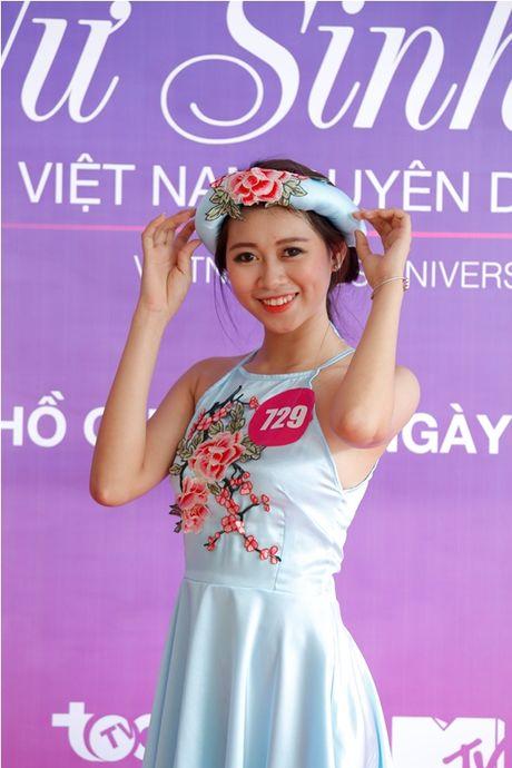 "Lo dien top 92 thi sinh vao vong ban ket cuoc thi ""Nu sinh duyen dang Viet Nam"" - Anh 7"