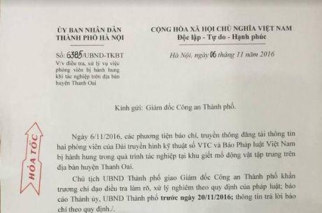 Chu tich Ha Noi yeu cau xu ly nghiem vu hanh hung phong vien - Anh 1