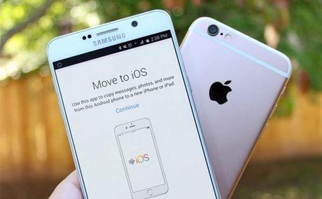 Hon 10 trieu nguoi dung chuyen tu Android sang iPhone - Anh 1