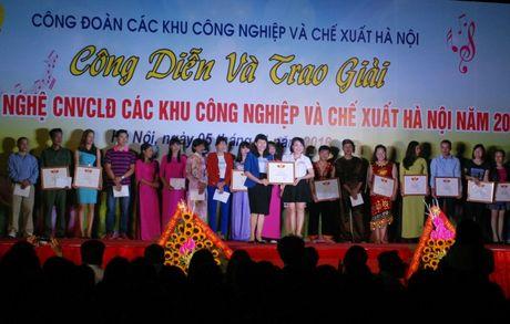 Trao giai lien hoan van nghe trong CNVCLD nam 2016 - Anh 1