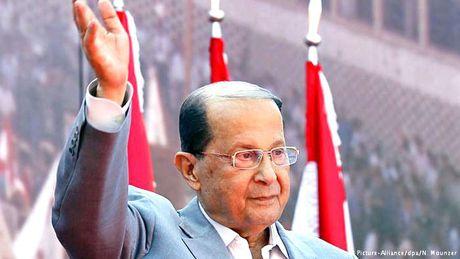 Nguoi noi tieng: Tan Tong thong Michel Aoun cham dut khoang trong quyen luc o Lebanon - Anh 1