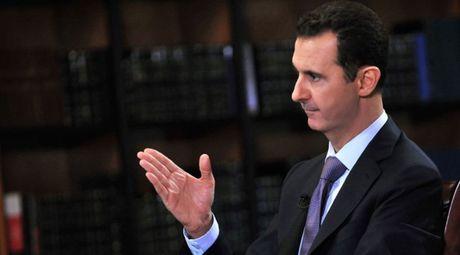 Tong thong Assad noi phuong Tay dang suy yeu o Syria - Anh 1