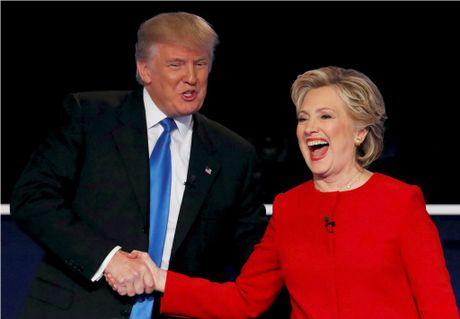 Hillary Clinton la ba con xa cua Tong thong Phap, Donald Trump la nguoi goc Duc - Anh 1
